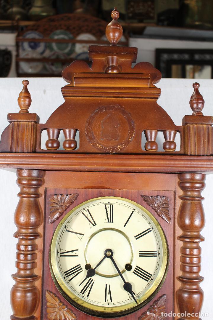 Relojes de pared: RELOJ DE PARED FUNCIONANDO MAQUINARIA - Foto 5 - 139378334