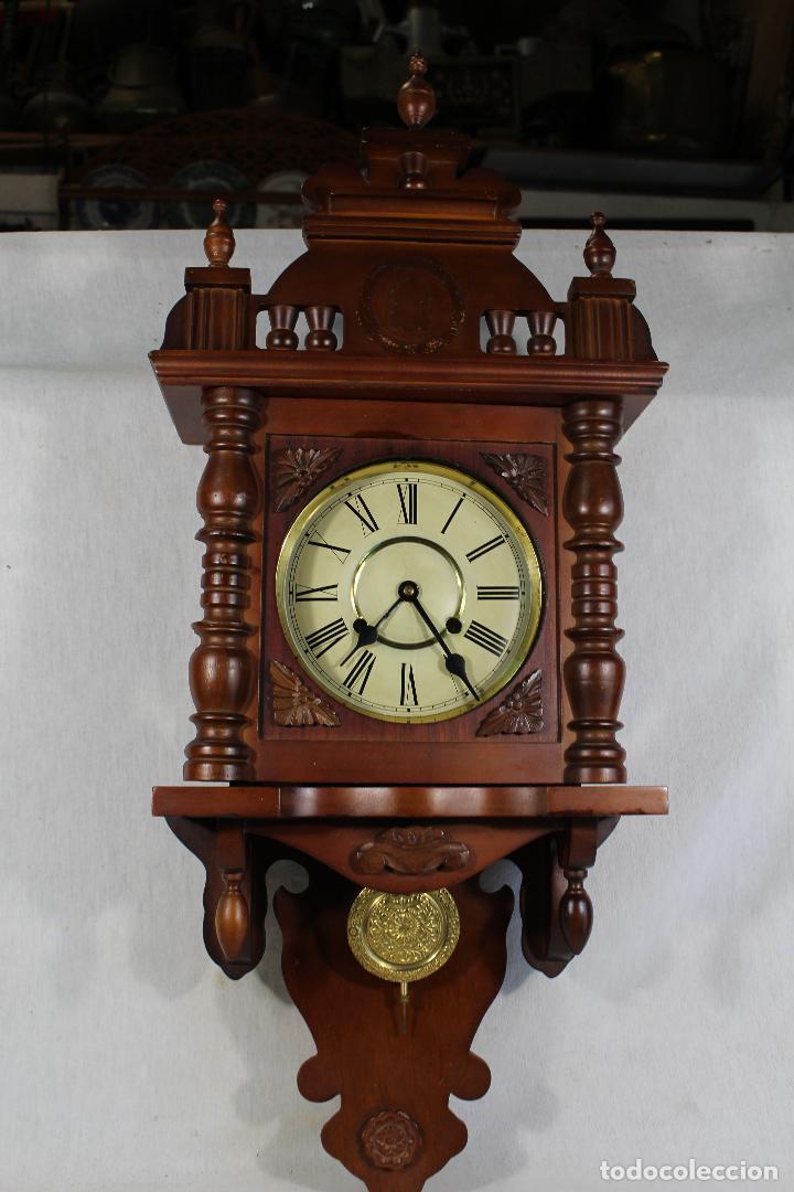 Relojes de pared: RELOJ DE PARED FUNCIONANDO MAQUINARIA - Foto 6 - 139378334