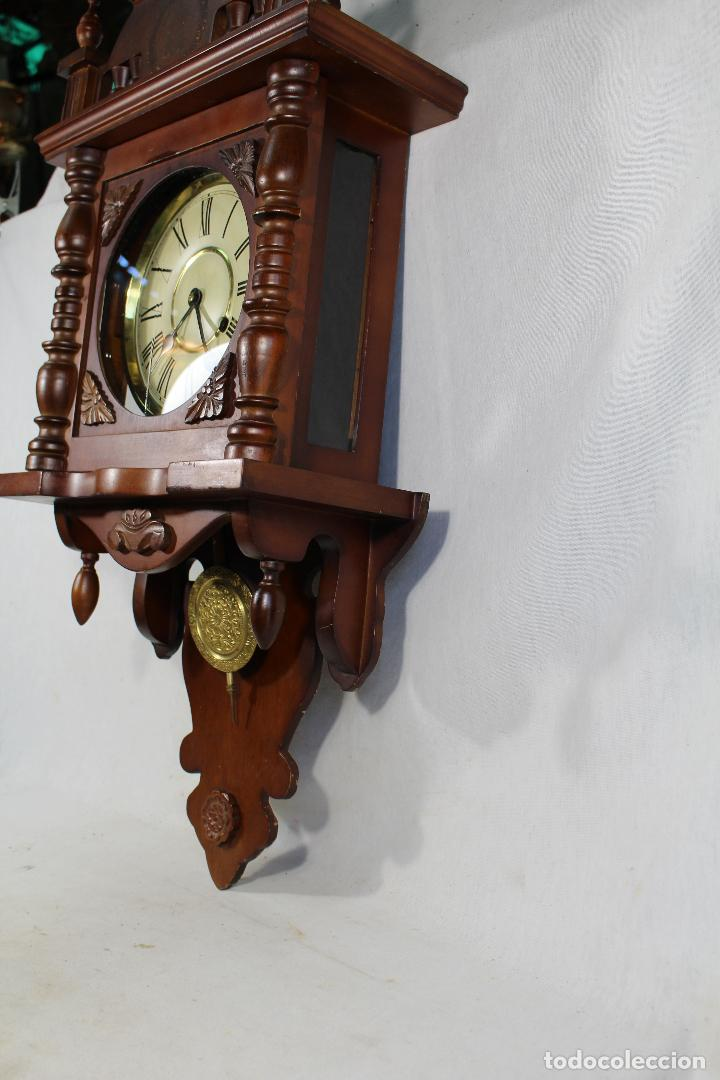 Relojes de pared: RELOJ DE PARED FUNCIONANDO MAQUINARIA - Foto 7 - 139378334