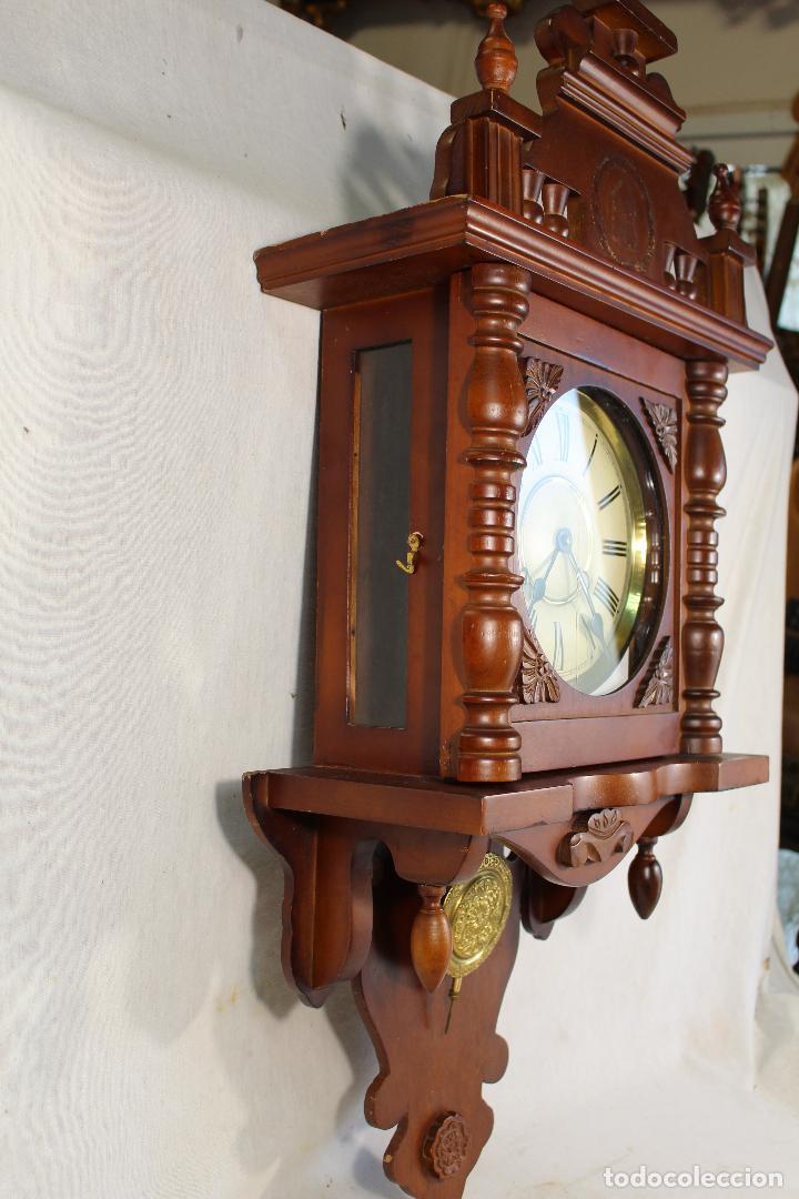 Relojes de pared: RELOJ DE PARED FUNCIONANDO MAQUINARIA - Foto 8 - 139378334