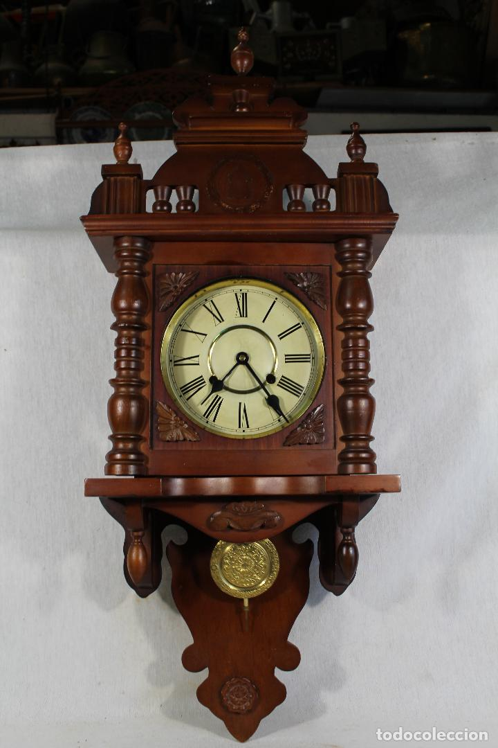 Relojes de pared: RELOJ DE PARED FUNCIONANDO MAQUINARIA - Foto 9 - 139378334