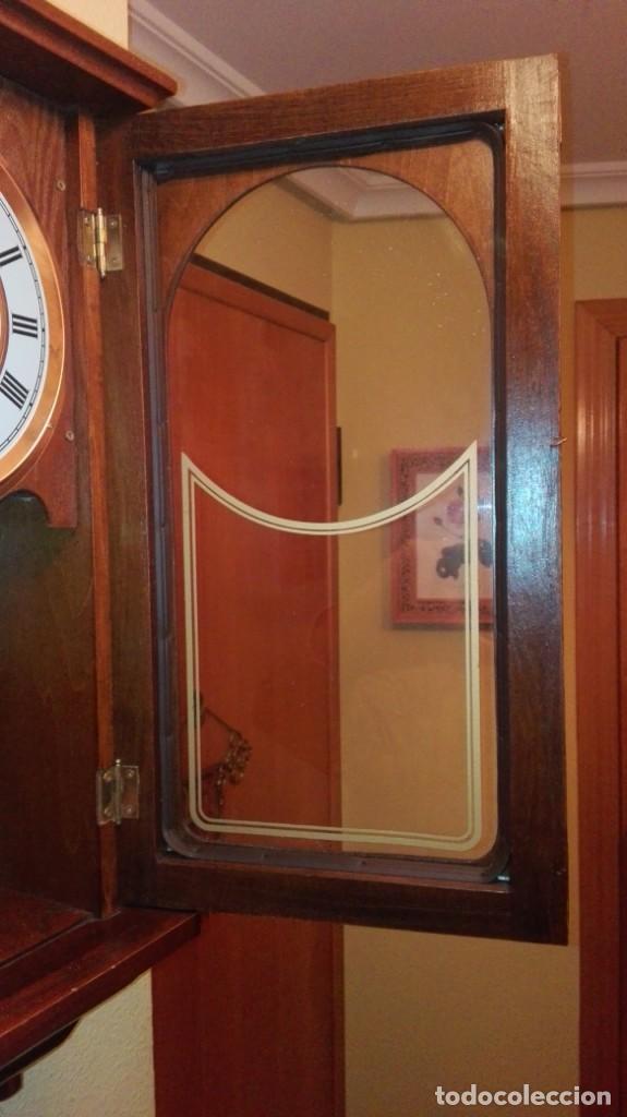 Relojes de pared: RELOJ DE PARED MARCA CONDOR.CUERDA 7-8 DÍAS .FUNCIONANDO BIEN. - Foto 7 - 139461114