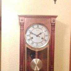 Relojes de pared: RELOJ DE PARED MARCA CONDOR.CUERDA 7-8 DÍAS .FUNCIONANDO BIEN.. Lote 139461114