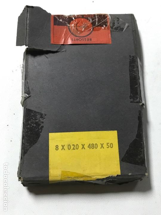 RESORTES RELOJ ANTIGUO (Relojes - Pared Carga Manual)
