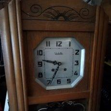 Relojes de pared: ANTIGUO RELOJ CARRILLON VEDETTE IMPECABLE. Lote 139797508