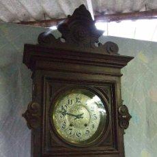 Relojes de pared: RELOJ DE PARED MODERNISTA FUNCIONANDO, IMPRESIONANTE Y RARO !. Lote 140021826
