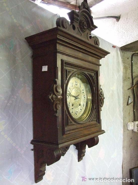 Relojes de pared: RELOJ DE PARED MODERNISTA FUNCIONANDO, IMPRESIONANTE Y RARO ! - Foto 2 - 140021826