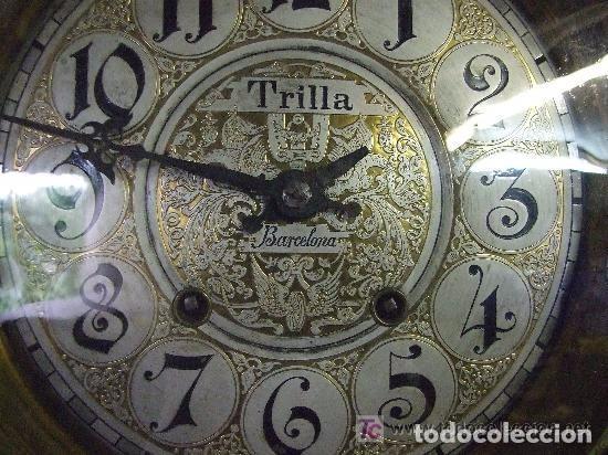 Relojes de pared: RELOJ DE PARED MODERNISTA FUNCIONANDO, IMPRESIONANTE Y RARO ! - Foto 5 - 140021826
