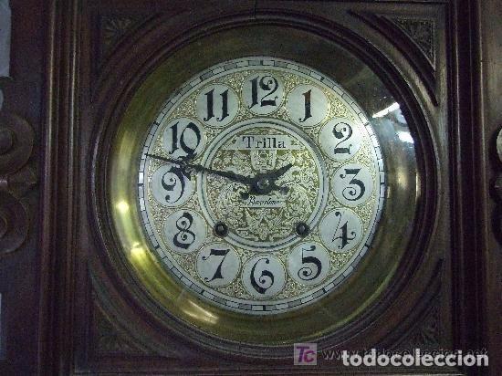 Relojes de pared: RELOJ DE PARED MODERNISTA FUNCIONANDO, IMPRESIONANTE Y RARO ! - Foto 6 - 140021826