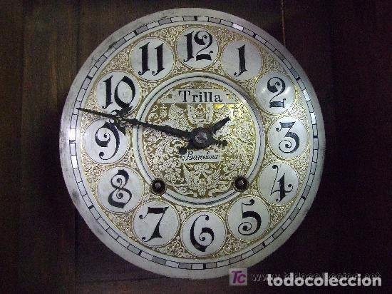 Relojes de pared: RELOJ DE PARED MODERNISTA FUNCIONANDO, IMPRESIONANTE Y RARO ! - Foto 13 - 140021826