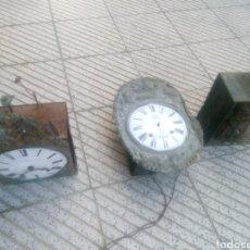 Relojes de pared: RELOJ,LOTE MOREZ PARA PIEZAS. Lote 140737372