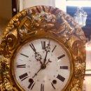 Relojes de pared: RELOJ MORÉ CON PENDULO DE MOVIMIENTO.. Lote 140977710