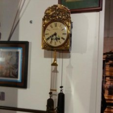 Relojes de pared: RELOJ DE PARED. AÑOS 60. FUNCIONA PERFECTAMENTE. LOUS JACQUINE.. Lote 141656342