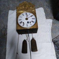 Wanduhren - Reloj de morez de rueda catalina y despertador gran campana - 141815898