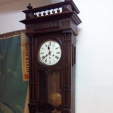 Relojes de pared: ANTIGUO RELOJ CARRILLÓN PARED. ALFONSINO. Lote 142252246