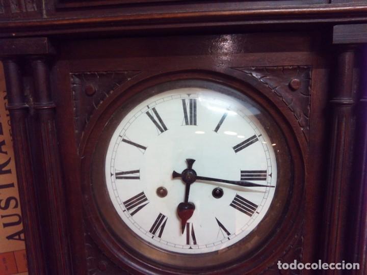 Relojes de pared: ANTIGUO RELOJ CARRILLÓN PARED. ALFONSINO - Foto 5 - 142252246