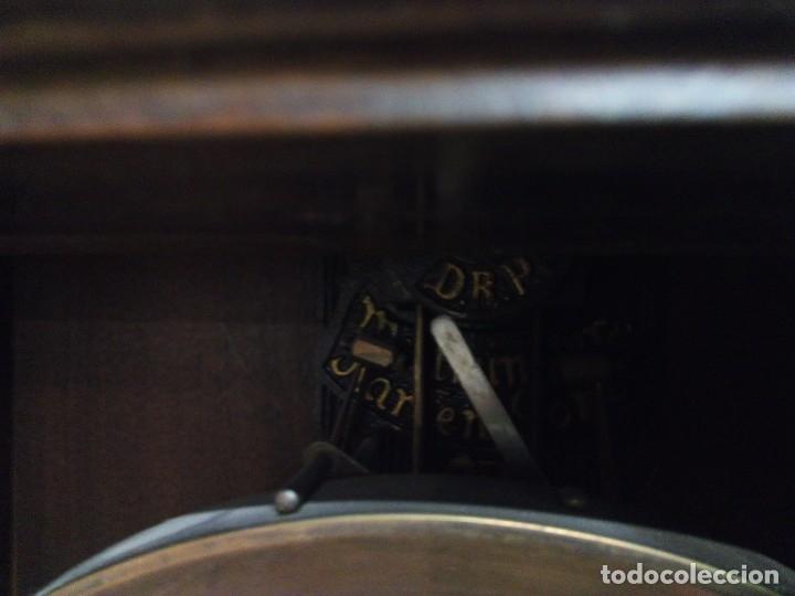 Relojes de pared: ANTIGUO RELOJ CARRILLÓN PARED. ALFONSINO - Foto 8 - 142252246