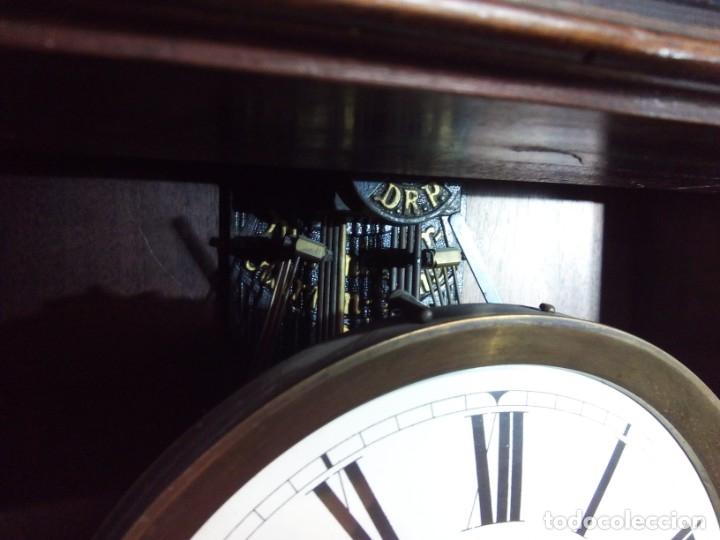Relojes de pared: ANTIGUO RELOJ CARRILLÓN PARED. ALFONSINO - Foto 9 - 142252246