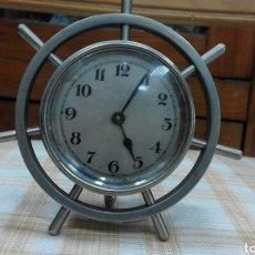 Relojes de pared: RELOJ TIMÓN BARCO. SIN PROBAR.. Lote 142448134