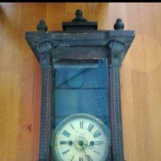 Relojes de pared: RELOJ ANTIGUO. Lote 142832032