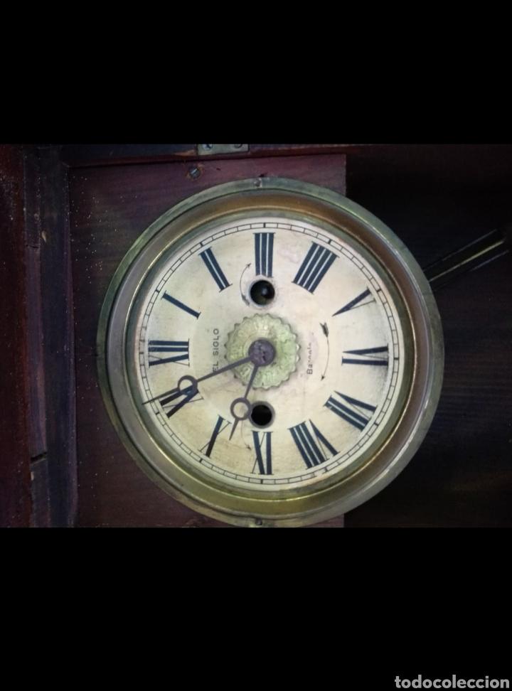 Relojes de pared: Reloj antiguo - Foto 2 - 142832032