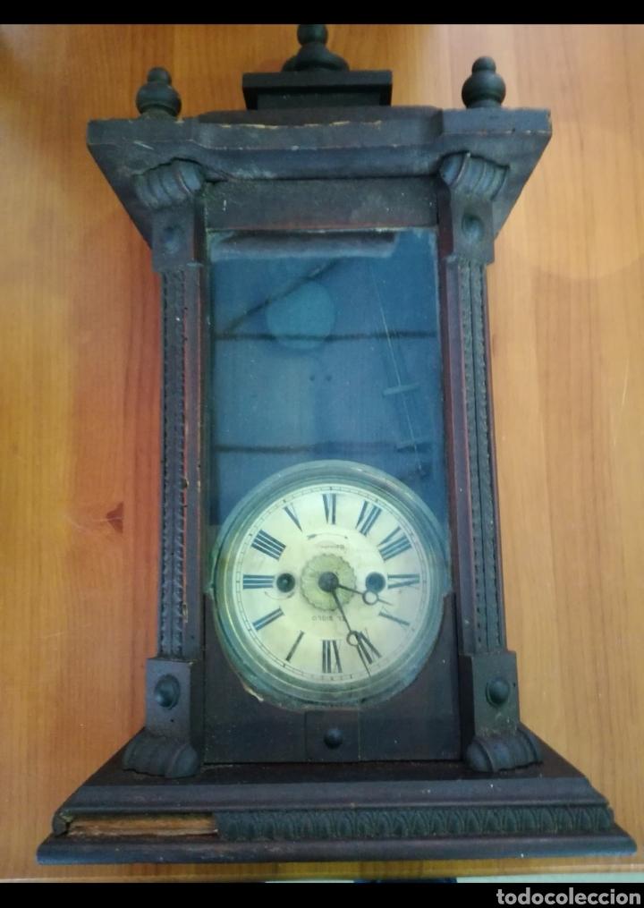 Relojes de pared: Reloj antiguo - Foto 3 - 142832032