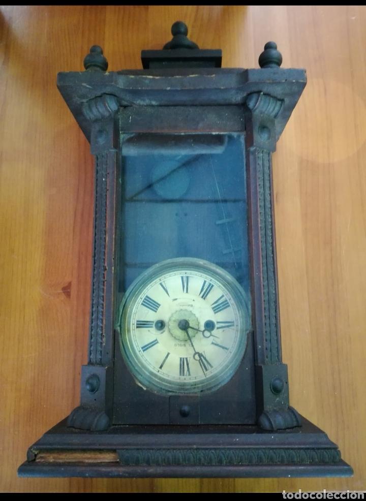 Relojes de pared: Reloj antiguo - Foto 5 - 142832032