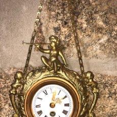 Relojes de pared: RELOJ CARTEL FRANCÉS CALAMINA.. Lote 143011229