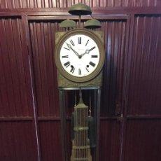Relojes de pared: MOREZ TRES CAMPANAS. Lote 143055358