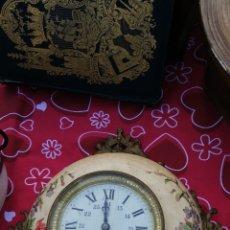 Relojes de pared: ESPECTACULAR RELOJ DE ESTACIÓN SIGLO XIX. Lote 143060214