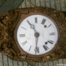 Relojes de pared: ANTIGUO RELOJ,( MAQUINARIA MOREZ). Lote 143069121