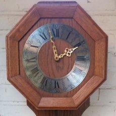 Relojes de pared: PRECIOSO RELOJ MECÁNICO DE PARED ALEMÁN AÑOS 70. Lote 143133614