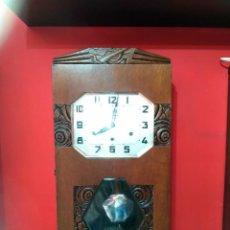 Relojes de pared: RELOJ DE PARED MODERNISTA . Lote 143212602