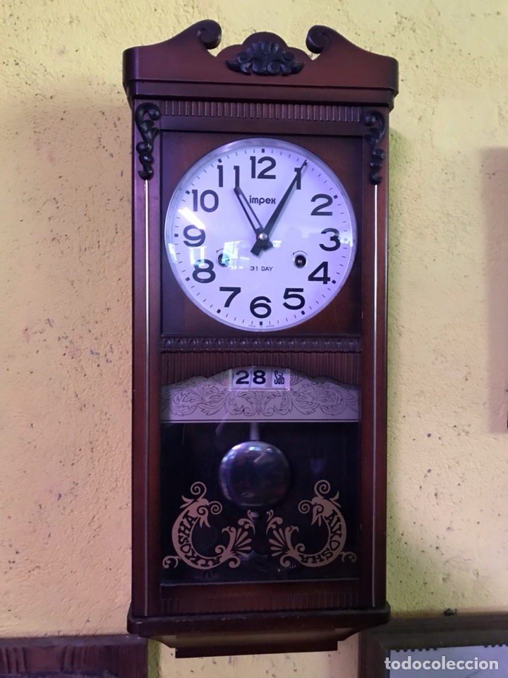 RELOJ (Relojes - Pared Carga Manual)