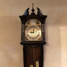 Relojes de pared: RELOJ DE PARED MARCA TEMPUS FUGIT. PENDULO. FUNCIONANDO. (#). Lote 144073466