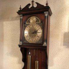 Relojes de pared: RELOJ DE PARED MARCA TEMPUS FUGIT.CON PENDULO. FUNCIONANDO Nº-2. (#). Lote 144073982