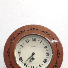 Relojes de pared: RELOJ OJO DE BUEY FUNCIONANDO. LEER.. Lote 144168074