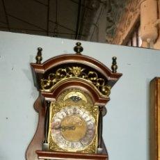 Relojes de pared: RELOJ HOLANDÉS FUNCIONANDO REVISADO EN BUEN ESTADO. Lote 144422956
