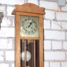 Relojes de pared: RELOJ MODERNISTA PARED. Lote 144473474