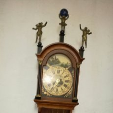Relojes de pared: RELOJ DE PARED FUNCIONANDO HOLANDES. Lote 145626553
