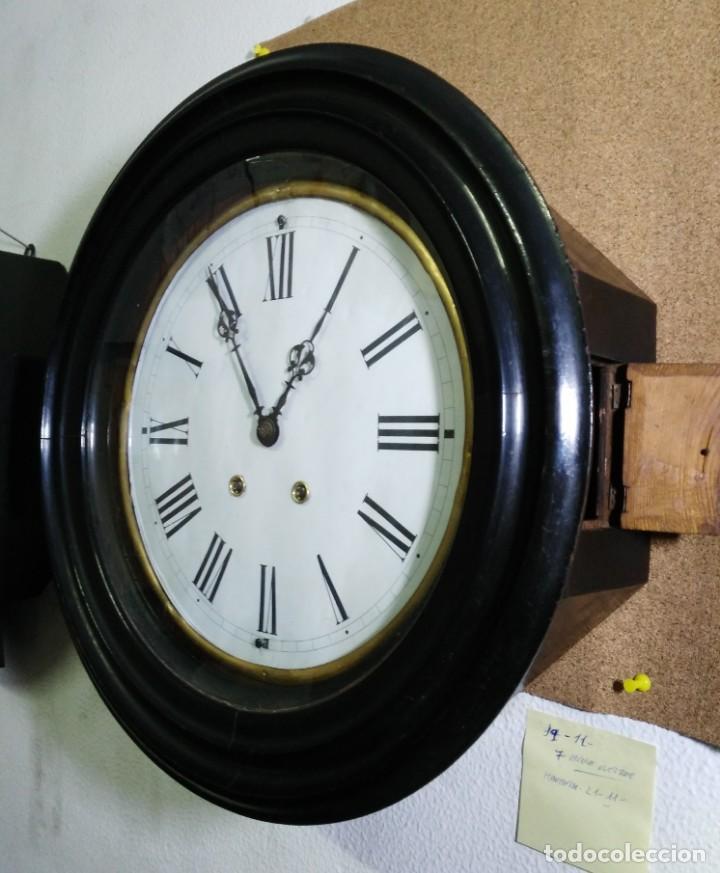 Relojes de pared: RELOJ OJO DE BUEY - MAQUINARIA PARIS - C'1890 - Foto 2 - 145763222