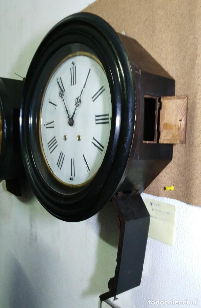 Relojes de pared: RELOJ OJO DE BUEY - MAQUINARIA PARIS - C'1890 - Foto 3 - 145763222