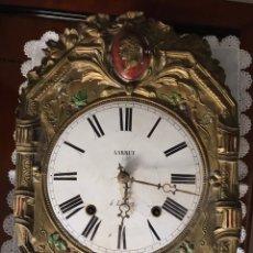 Relojes de pared: RELOJ MORE CON POLICROMÍA ORIGINAL. Lote 145880952