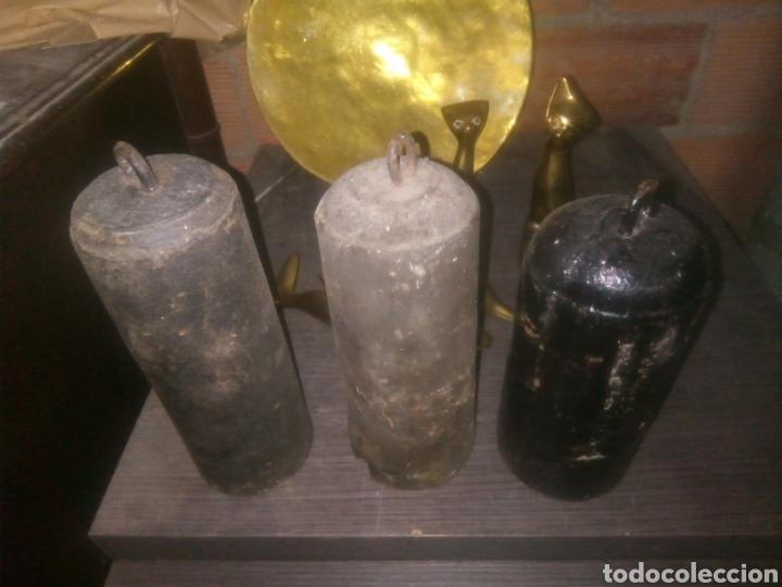 Relojes de pared: Tres Pesas de morez - Foto 2 - 146302697