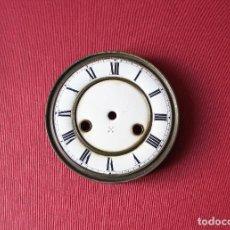 Relojes de pared: ANTIGUA ESFERA ESMALTADA PARA RELOJ DE PARED. Lote 146609454