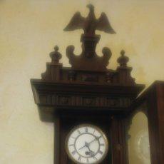 Relojes de pared: RELOJ PENDULO GUSTAV BECQUER. Lote 146679173