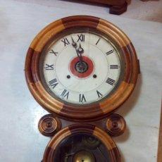 Relojes de pared: ANTIGUO RELOJ DE PARED E. INGRAHAM&CO. . Lote 147210570