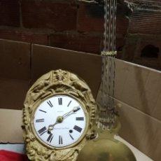 Relojes de pared: ANTIGUO RELOJ MOREZ DE CAMPANA SIGLO XIX. Lote 147444401
