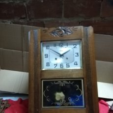 Relojes de pared: ANTIGUO RELOJ DE PARED CON SONERIA ODO. Lote 152591014