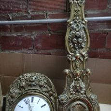 Relojes de pared: ANTIGUO RELOJ MOREZ PÉNDULO REAL SIGLO XIX. Lote 147476557